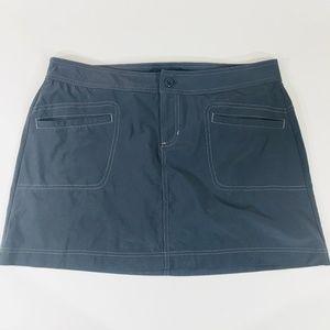 Prana Women's Gray Skort Size 10